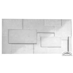 PN-03 Gips 3D Deko Wandverkleidung Dekor Wandplatten Gipsplatten 100x50cm