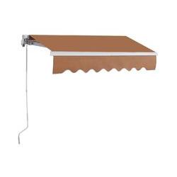 2,5 x 2 m Gelenkarmmarkise Sonnenmarkise Balkonmarkise Terrassenmarkise Klemmmarkise mit UV- und