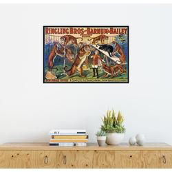 Posterlounge Wandbild, Circus Poster von 1920 130 cm x 90 cm