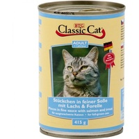 Classic Cat in Soße mit Lachs & Forelle 415 g