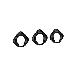 Addicted Toys 'Rings Set for Penis', 3,1 - 5,5 cm