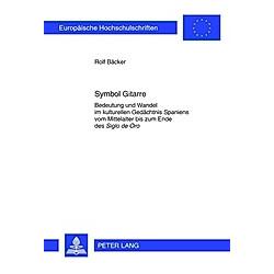 Symbol Gitarre. Rolf Bäcker  - Buch
