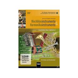 Blechblasinstrumente und Harmonikainstrumente DVD
