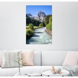 Posterlounge Wandbild, Berner Oberland Schweiz 61 cm x 91 cm