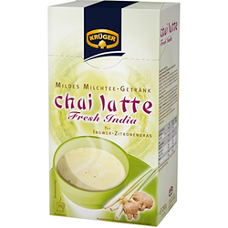 Krüger Chai Latte Typ Ingwer Zitronengras Fresh India 4er Pack