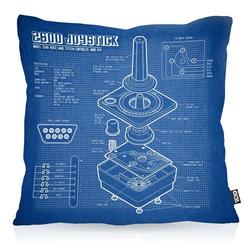 Kissenbezug, VOID, 2600 VCS Computer Outdoor Indoor joystick classic gamer 2800 5200 40 cm x 40 cm