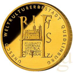 1/2 Unze Goldmünze - 100 Euro Quedlinburg 2003 (J)