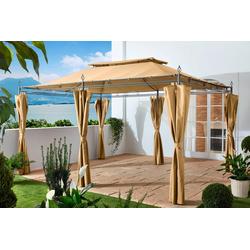Grasekamp Pavillon Inca, mit 6 Seitenteilen, (Set), BxT: 300x400 cm