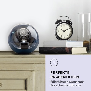 St. Gallen ll Premium Uhrenbeweger 4 Geschwindigkeiten 3 Rotationsmodi