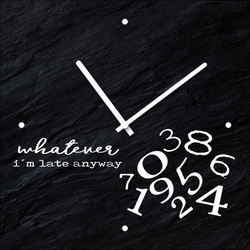 Wanduhr WHATEVER(BH 20x20 cm) Pro-Art