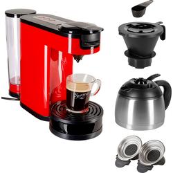 Senseo Kaffeepadmaschine »® Switch HD6592/80«, Papierfilter, Kaffeemaschine, 30184515-0 rot Größe: 1l / Tassenanzahl: 7 rot