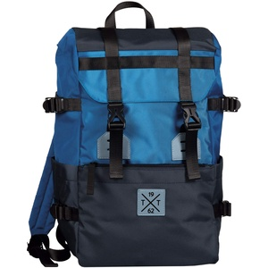 TOM TAILOR bags STUART Herren Rucksack L, mixed blue, 36x18x47