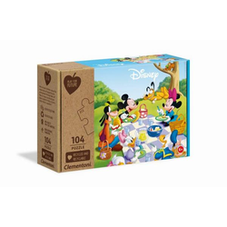 Clementoni Puzzle Play for Future - Mickey Mouse