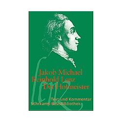 Der Hofmeister. Jakob M. R. Lenz  - Buch