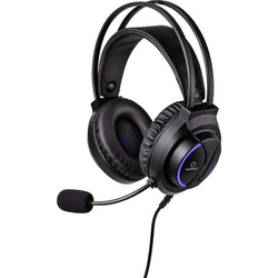 Renkforce RF-GHD-200 Gaming Headset 3.5mm Klinke schnurgebunden Over Ear Schwarz