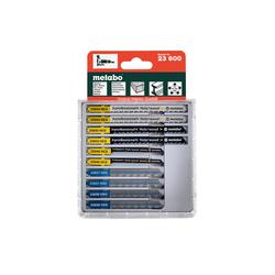 METABO Stichsägeblattsortiment, Holz+Metall+Kunststoffe, 10-teilig, (623600000) 623600000