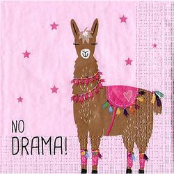 """Papierservietten """"Lama"""", 33 x 33 cm, 20 Stück"""
