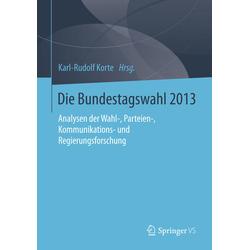 Die Bundestagswahl 2013 als Buch von