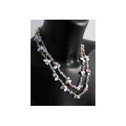 Adelia´s Kette ohne Anhänger Aquamarin Halskette