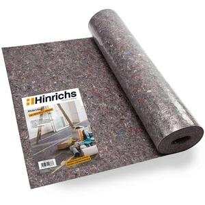 Hinrichs Malervlies Hinrichs Malervlies 1 x 50 m Abdeck-Vlies 50m², 180g Abdeckvlies - Vlies mit Anti-Rutsch Beschichtung - Oberflächenschutz für Maler und Heimwerker