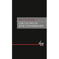 Gibt es noch eine Universität? - Buch