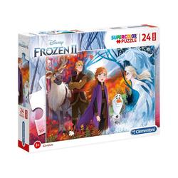 Clementoni® Puzzle Puzzle 24 Teile Maxi Die Eiskönigin 2, Puzzleteile