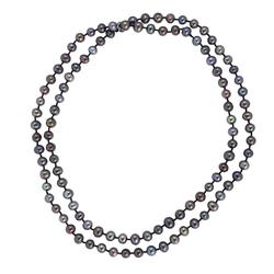 Pippa&Jean Halskette Süßwasser-Zuchtperlen schwarz Pippa&Jean Perlenhalskette Halskette Süßwasser-Zuchtperlen schwarz Pippa&Jean Perlenhalskette
