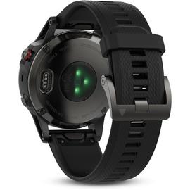 Garmin fenix 5 grau mit schwarzem Armband