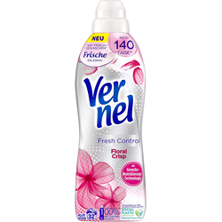 Vernel Fresh Control Floral Crisp Weichspüler 32 Waschladungen Waschmittel