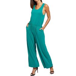 khujo Jumpsuit khujo Venice Jumpsuit lockerer Damen Sommer-Einteiler Overall Grün L