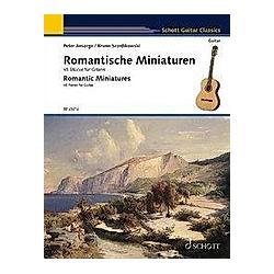 Romantische Miniaturen. Gitarre. - Buch