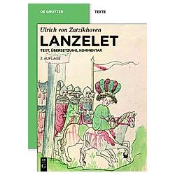 Lanzelet. Ulrich von Zatzikhoven  - Buch