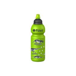 Fizzii Trinkflasche FIZZII Trinkflasche Dino kiwi, 600 ml grün