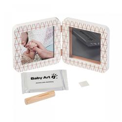 Baby Art Bastelset 2er Bilderrahmen My Baby Touch Copper