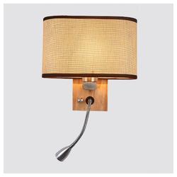 Gotui Wandleuchte, Nachttischlampe, Wandleuchte, Beleuchtung Wandleuchten, Retro Wohnzimmer Tischlampen, LED Holzwandleuchte