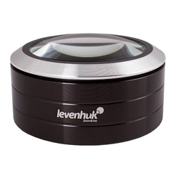 Levenhuk Zeno 900 LED-Lupe, 5x, 75 mm, Metall