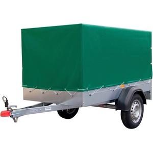 STEMA PKW-Anhänger AN 750, max. 606 kg, inkl. Plane silberfarben
