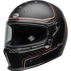 Bell Eliminator Carbon RSD The Charge Helm, schwarz-carbon, Größe 2XL