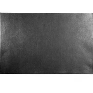 Durable Schreibunterlage 730501, schwarz, Echt Leder, blanko, 65 x 45cm
