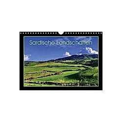 Sardische Landschaften (Wandkalender 2021 DIN A4 quer)