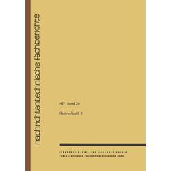 Elektroakustik II als Buch von