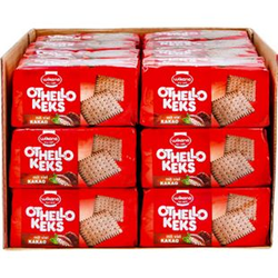 Wikana Othello Keks 200 g, 24er Pack