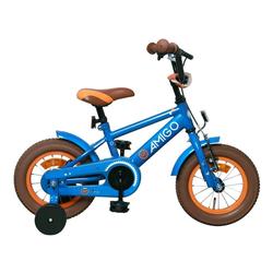 LeNoSa Kinderfahrrad AMIGO • 12 Zoll Fahrrad für Kinder ab 3 Jahren / Hand & Rücktrittbremse