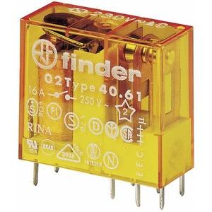 Finder 40.61.8.012.0000 Printrelais 12 V/AC 16A 1 Wechsler 1St.
