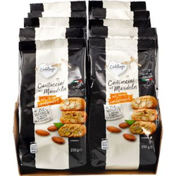 Lieblings Cantuccini mit Mandel 250 g, 10er Pack