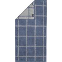 CAWÖ Handtuch Two-Tone Grafik 604 nachtblau, 50 x 100 cm