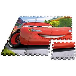 Cars Puzzlespielmatte, Moosgummi, 9-tlg.