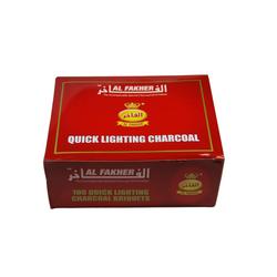 Al Fakher 33mm Selbstzünder - 100 Kohletabletten