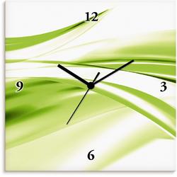 Wanduhr »Schöne Welle - Abstrakt«, Wanduhren, 33672139-0 grün grün