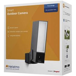 Netatmo Presence NOC01-DE WLAN IP Überwachungskamera 1920 x 1080 Pixel